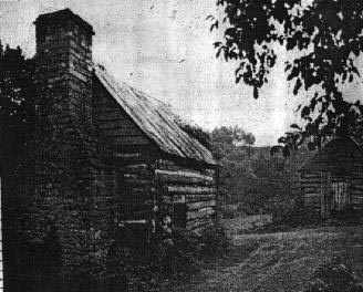 Ancestor stories charlie cooks family pioneer log house cooks cabin built 1791 site of last indian battle in franklin county ky dr maurice g cook raleigh nc publicscrutiny Image collections